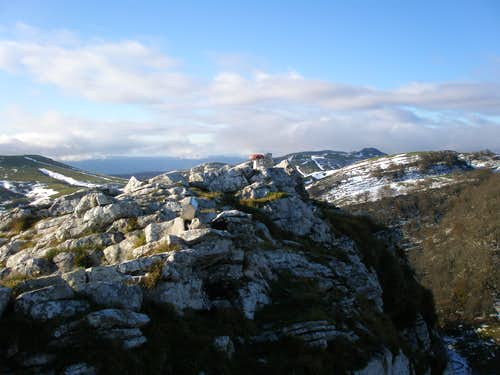 The summit of Ttutturre
