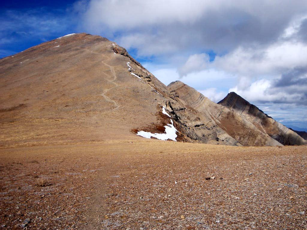 The Three Peaks of Mt. Nebo (Utah)