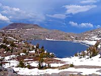 Winnemucca Lake and Elephants Back, Toiyabe Nat. Forest