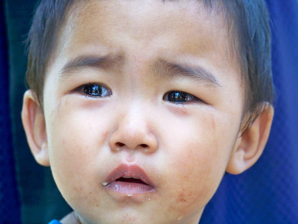 Akha Hill Tribe Boy, Northern Thailand
