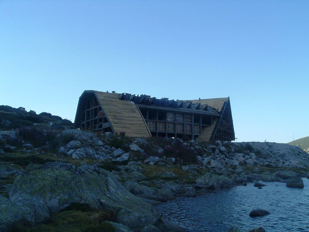 The new Musala hut