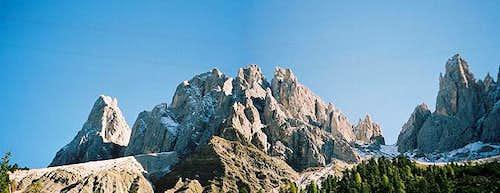 Furchetta (3025m), Sass...