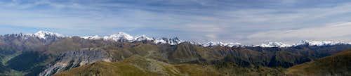 Ötztal Alps Panorama