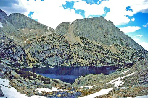 Ruby Lake, Little Lakes Valley