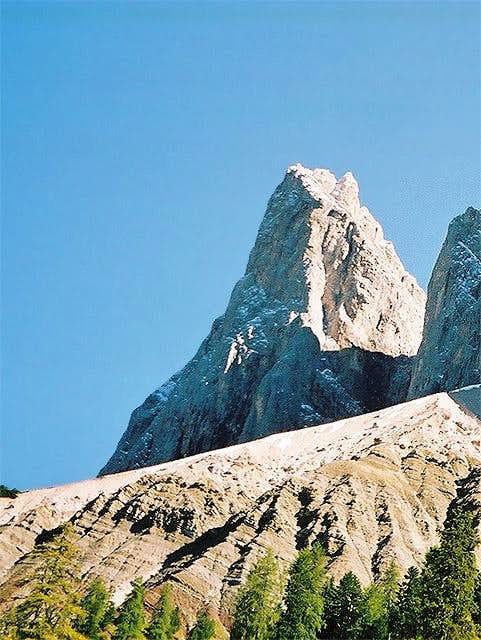 The famous Furchetta north...