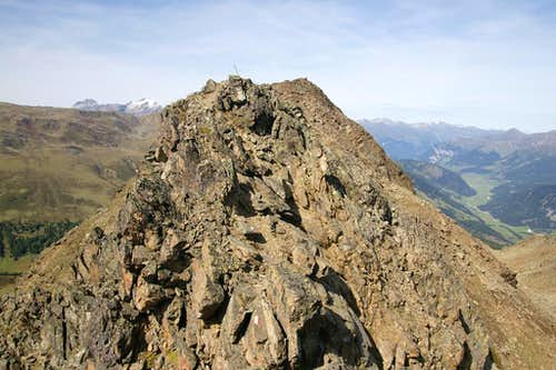 Zehnerkopf south ridge