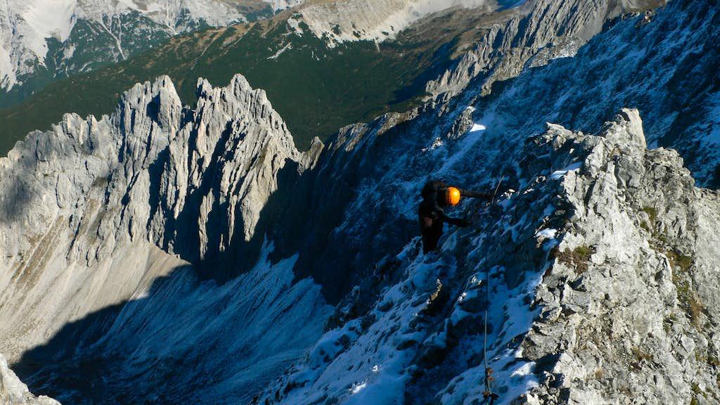 Along the Innsbrucker Klettersteig