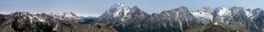 West - Northeast Pano from Bean Peak