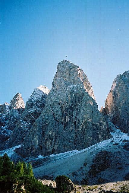 Furchetta North Face. Dülfer...