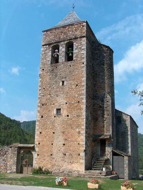 Church of Lafortunada, High Aragon, Spannish Pyrenees