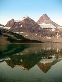 Assiniboine at Sunrise