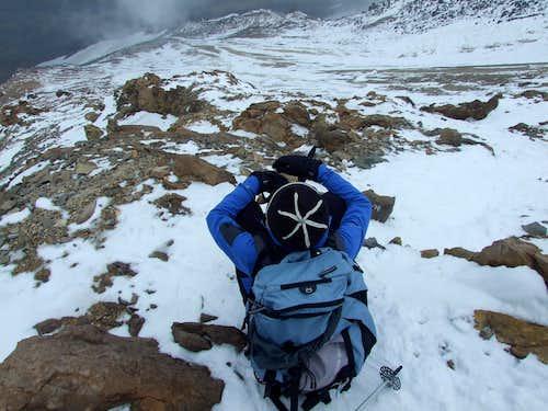 Descent from Damavand