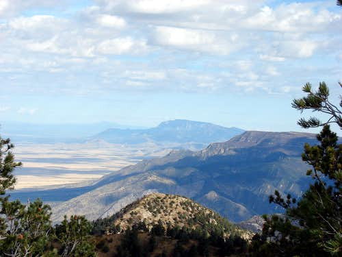 Sandia and Manzano Mountains