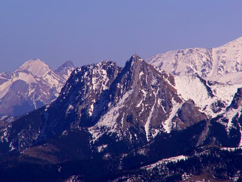 Giewont from Osobita