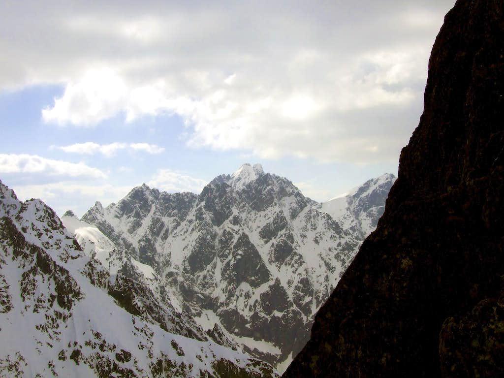 Vysoka from Rohatka Pass