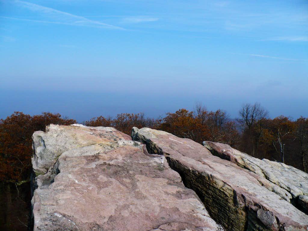 High Rock on Big Savage Mountain