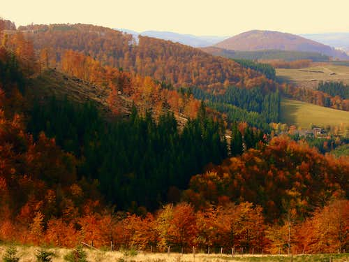 Indian Summer: Wilzenberg and Rothaar Mountains