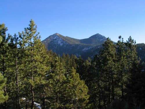 Bear Peak (left) and South...