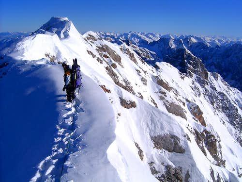 Jubilaeumsgrat Zugspitze/Alpspitze