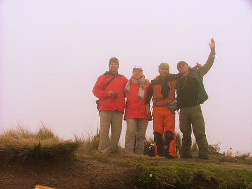 Fuya Fuya's second summit.