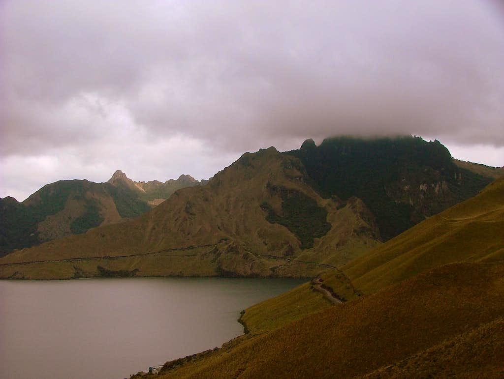 Cerro Negro from Fuya Fuya.