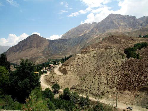 Reyneh - first step to Damavand