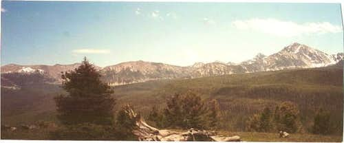Warren Peak (extreme right)...
