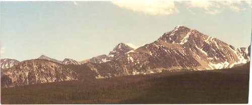 Warren Peak from Huff-Puff...