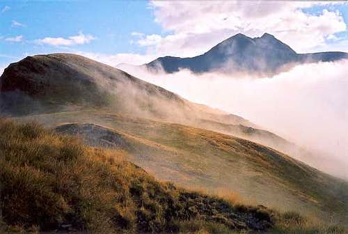 Pic de Batoua from Ordicieto