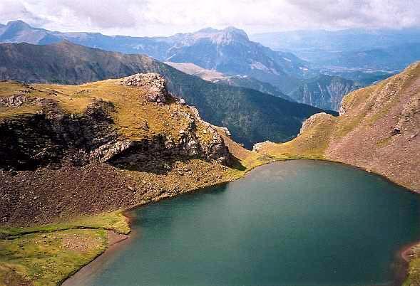 lago de Barleto on the Punta Suelsa
