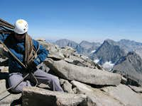 On the summit of Sill