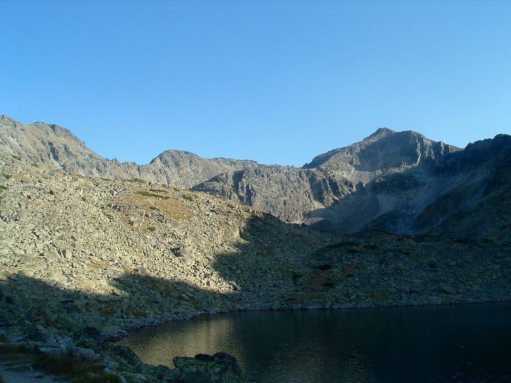 Ireček (2852 m), Malka Musala (2902 m) and Musala (2925 m)