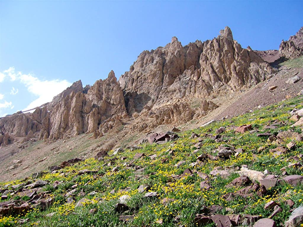 Rocky Sub-Peaks, South Face