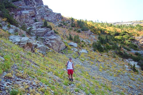 Game Trail to ridge