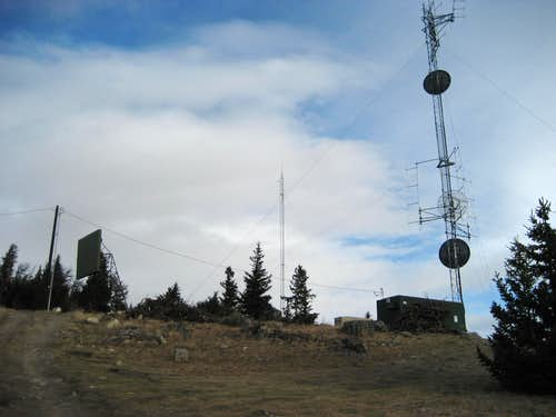 Radio Towers on Dead Indian Hill