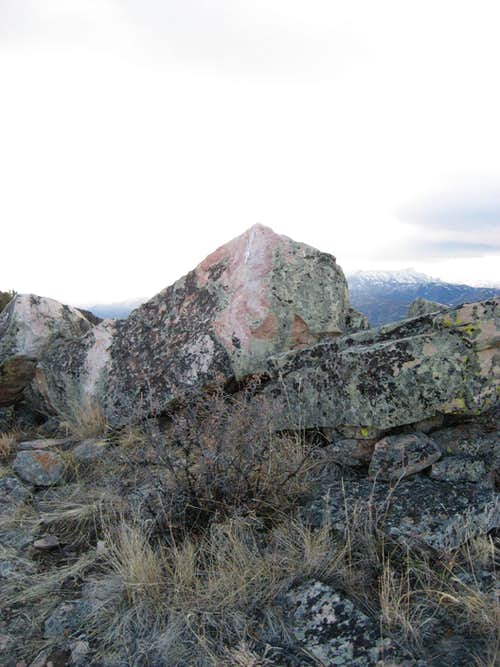 Second Dead Indian Hill summit