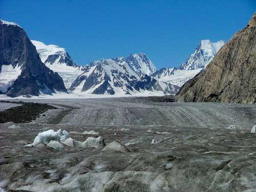 Snow lake, Biafo Glacier,