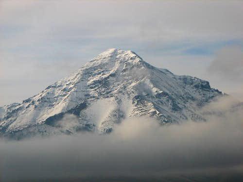 Diamond Peak East Ridge - Upper