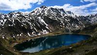 Lago Cerveriz above Picos Albos group
