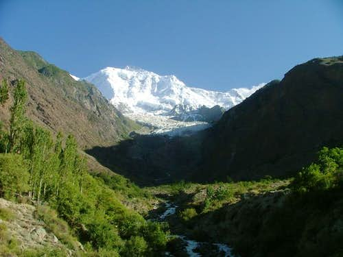 Silvered Magic, Rakaposhi (25,552-feet), Karakoram, Pakistan