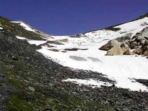 In view of Col Fenêtre  de Ferret<i> (2698m)</i>