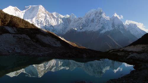 Manaslu reflection ...