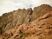 South Ridge of Eolus San Juan Mountains