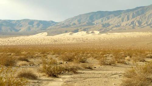 Panamint Dunes from afar