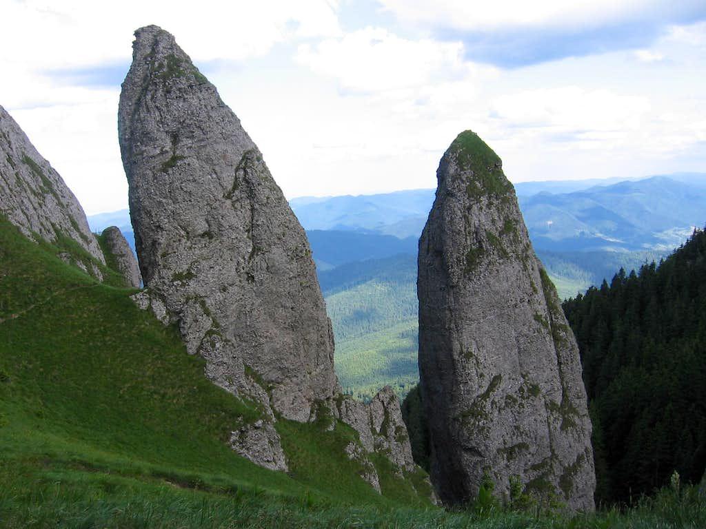 Clăile lui Miron - Ceahlău mountains