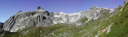 On the italian side of Col Fenêtre de Ferret