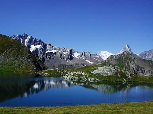 Lac de Fenêtre (m.2495): in...