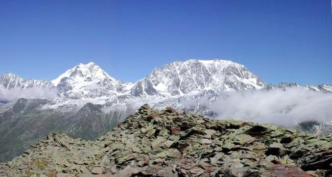 Grand Combin (m.4314) and...