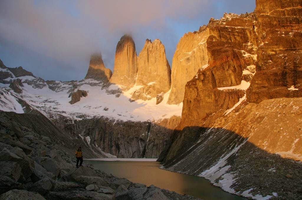 Dawn on Torres del Paine