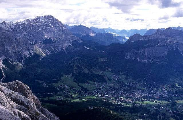 Cortina d'Ampezzo, Tre Croci...
